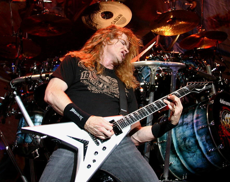Megedeth's Dave Mustaine Assaulted By Croatian Crowd