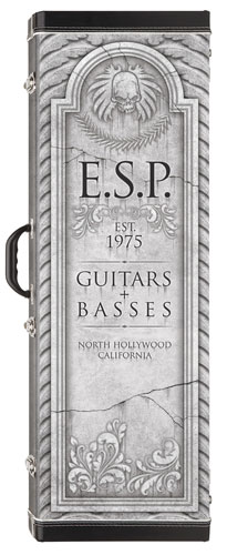 ESP Guitars Launch Tombstone Case Company
