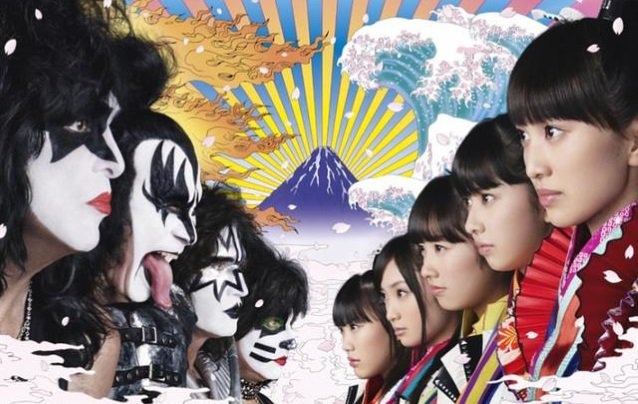 KISS Collaborates with J-Pop Group Momorio Clover Z