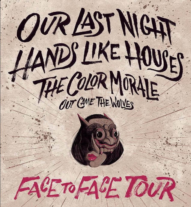 Our Last Night Announce Face to Face Tour