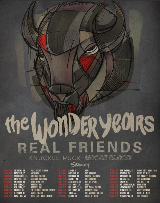 The Wonder Years Announce 2016 Fall North America Tour