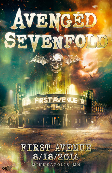 Avenged Sevenfold to Play Free Show in Minneapolis